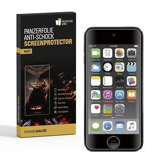 6x Panzerfolie für iPod Touch 7 ANTI-SCHOCK Displayschutz Displayfolie MATT