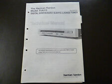 Original Service Manual Harman Kardon TU 615