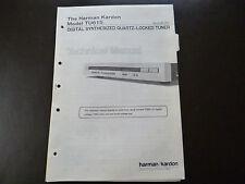 Original Service Manual Harman Kardon TU 615