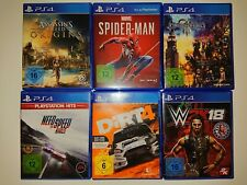 PlayStation 4 juegos FIFA 19, Dirt 4, NFS rival, Kingdom Hearts III, Spider Man