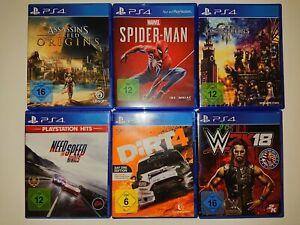 Playstation 4 Spiele (viele verschiedene Spiele zur Auswahl)