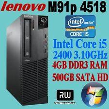 Intel Core i5 2nd Gen. 500GB 4GB Desktop & All-In-One PCs