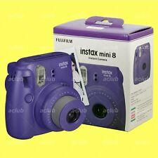 Fujifilm Instax Mini 8 Camera Instant Color Film Camera (Grape) Photo Selfie