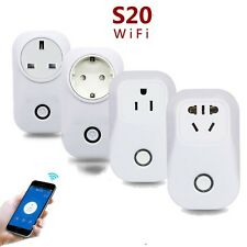 WiFi Wireless Remote Control Timer Switch Smart Power Socket Outlet US/EN Plug