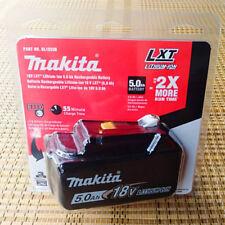 Brand New Genuine  Makita 5.0AH 18 Voit BL1850B Original  Li-ion battery
