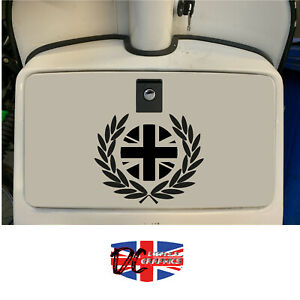 ROYAL ALLOY 125 200 300 GLOVEBOX FRED PERRY UK STICKER DECALS GRAPHICS