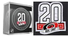 2017 2018 CAROLINA HURRICANES PUCK & PATCH 20TH ANNIVERSARY STANLEY CUP FINAL?