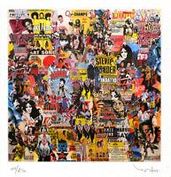 TEHOS - Tableau art moderne design contemporain - edition limitée 250 ex - Kings