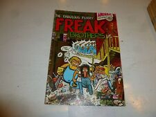 FABULOUS FURRY FREAK BROTHERS Comic - No 1 - Date 1976 - Ripp Off Press