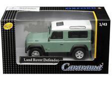 Cararama 1/43 Land Rover Defender Diecast Model Car Light Green (4-55240)