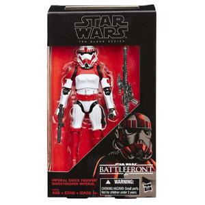 Star Wars: Battlefront Imperial Shock Trooper The Black Series Action IN HANDS
