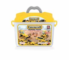 Construction Super Pack Bric Tek Building Block Compatible w/other leading brand