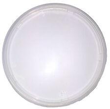 500 x Deli Pot Lids Round Clear Plastic Reusable Clip Lid C900 81995