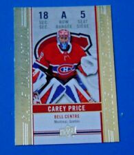 2018-19 Tim Hortons Game Day Action #GDA-5 Carey Price Hockey Card Montreal Habs
