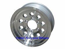 "15"" 6 Lug Series 03 Hispec Aluminum Trailer Wheel camper rv car hauler utility"