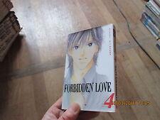 MANGA BD FORBIDDEN LOVE  #  tome 4  MIYUKI KITAGAWA  akiko