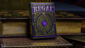 BRAND NEW CARDS - Regal Deck (Purple) by Gamblers Warehouse