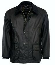 Barbour Bedale Wax Jacket - Black Size 44