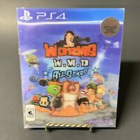 Worms W.M.D All Stars (Sony PlayStation 4) Brand New Sealed w/ 3D Slip Cover FS