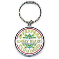 OFFICIAL LICENSED - THE BEATLES - SGT PEPPER KEYCHAIN METAL KEYRING