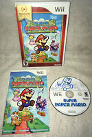 Super Paper Mario (Nintendo Wii, 2007) - Complete & Tested!