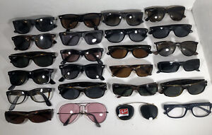 Lot Of 24 Ray Ban Eyeglasses/ Sunglasses EB