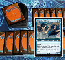 mtg BLUE KEIGA COMMANDER EDH DECK Magic the Gathering 100 cards teferi kefnet