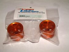 LOSI MINI-T GPM FRONT SINK SURFACE 6 POLE ORANGE ALUMINUM RIMS SMT0603F/L