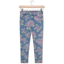 Baby, Toddler & Older Girls Slim Legs Skinny Jeans Floral Print Patterned