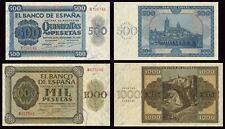 Facsimil Billete 500-1000 pesetas 1936 BN - Reproductions