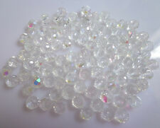 Wholesale 100Pcs Exquisite Rondelles Crystal Beads Jewelry Making 3*4mm