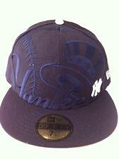 Authentic New York Ny NY Yankees New Era 59fifty Cap Hat Size 7 1/2 Mlb MLB New
