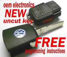 NEW VW VOLKSWAGEN KEYLESS REMOTE ENTRY UNCUT FLIP KEY TRANSMITTER HLO1J0959753AM