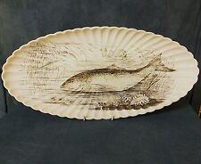 Wonderful huge oval late 19th. Century Copeland Salmon Platter.