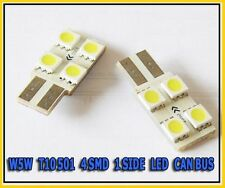 W5W T10 501 4 SMD 1 SIDE LED SIDELIGHT INTERIOR CAN BUS bulbs