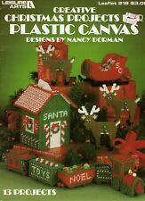 Creative Christmas Projects For Plastic Canvas Leisure Arts