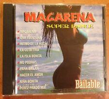 ☀️ Macarena: Bailable CD Gota Fria Ritmo de la Noche La Isla Bonita España MINT