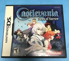 Nintendo DS Castlevania Dawn Of Sorrow Complete In Box. MINT