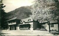 Iron Springs Chateau Manitou Springs Colorado 1956 RPPC Sanborn Postcard 3176