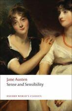 Sense and Sensibility by Austen Jane 9780199535576 -paperback