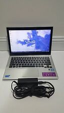 Sony Vaio i7-3517U 1.90GHz 8GB 200GB HD Touchscreen Utrabook Laptop