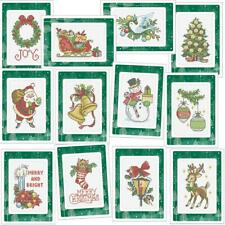 Herrschners® Christmas of Old Greeting Cards Counted Cross-Stitch Kit