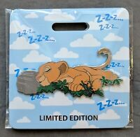 D23 Expo 2019 LE 300 - WDI MOG - Cat Nap The Lion King Nala Pin 136125 IN HAND