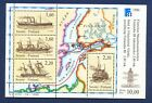 FINLAND   SC 740   FVF MNH S/S   SHIPS MAP FINLANDIA 88   1988