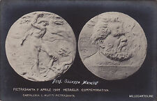 # PIETRASANTA: 7 apr. 1907  MEDAGLIA COMMEMORATIVA G. CARDUCCI - ...