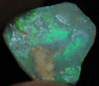 1.5 ct., 13x11x3mm Australian Lightning Ridge Opal