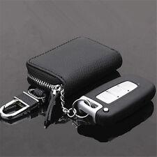 Schwarz Fernbedienung AUTO Schlüssel TASCHE HÜLLE Schlüsselanhänger Universal