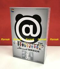 Medicom Be@rbrick 2017 Series 34 Full box S34 Unopened Bearbrick Case of 24pcs