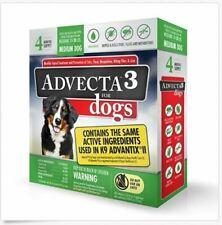 Advecta 3 For Medium dog 11 - 20 lbs - Flea & Tick Topical Treatment - 4 Count