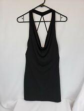 Fredricks Of Hollywood Black Knit Dress Size Small